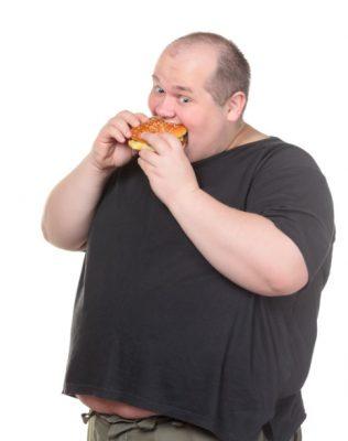 بدانة, سمنة، السمنة المُفرطة، صورة، رجل سمين