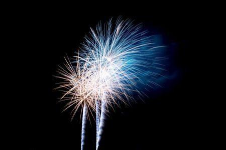 السنة الجديدة , العمل , fireworks , صورة
