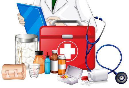 صورة , الإسعافات الأولية , سماعة طبية , طبيب