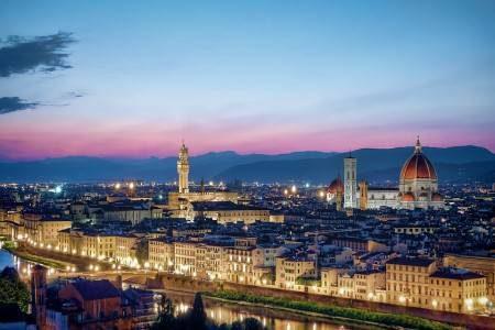 فلورنسا ، إيطاليا ، أوفيزي ، بونة فكيو ، حدئق بوبولي