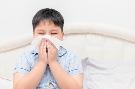 صورة , طفل , مريض , الإنفلونزا الموسمية , نزلات البرد
