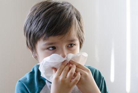 صورة , طفل , الزكام , الانفلونزا