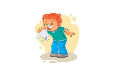 صورة , الإنفلونزا , حساسية الانف