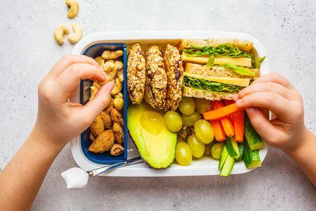 صورة , طعام , التغذية السليمة , أطفال المدارس
