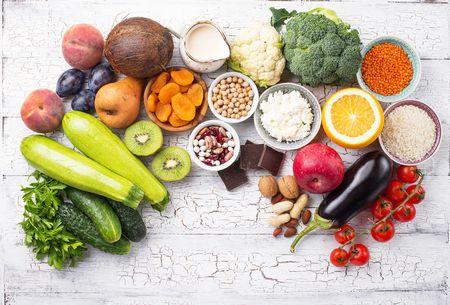 صورة , طعام , المناعة , خضروات , فاكهة