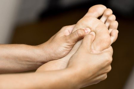 فطريات القدم ، بكتريا ، مرضى السكري ، القدم السكري