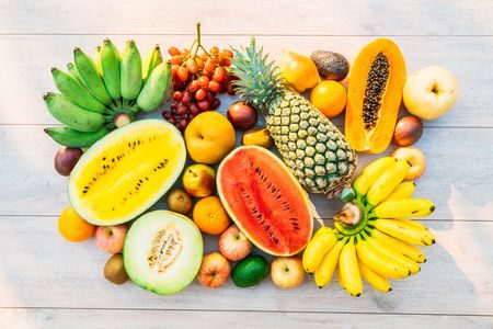 صورة , الفواكه , الخضروات , القشور , الموز