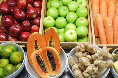 fruits , vegetables , فواكه , خضار , ألياف , صورة