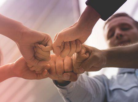 صورة , رجال , أيدي , حقوق الإنسان