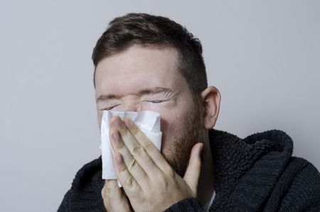 مطعوم الأنفلونزا , صورة , مريض