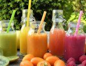 العصائر ، الفواكه ، الخضروات ، الفيتامينات ، المياه ، الجفاف
