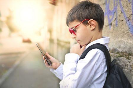 تصحيح الإبصار , الأطفال, smartphone , صورة