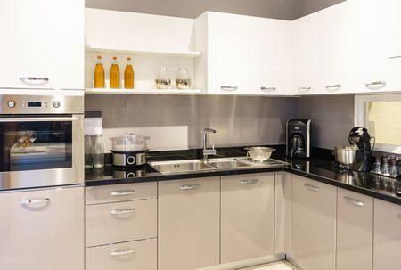 صورة , مطبخ منظم , المطبخ