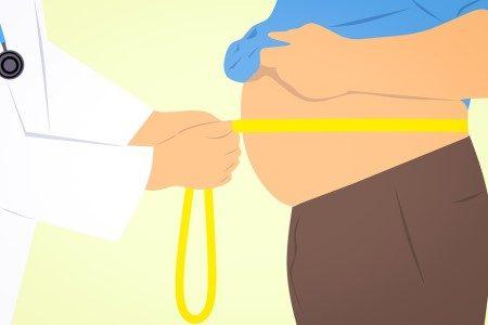 البطن والأرداف ، الكرش ، زيادة الوزن ، الدهون ، إذابة الدهون
