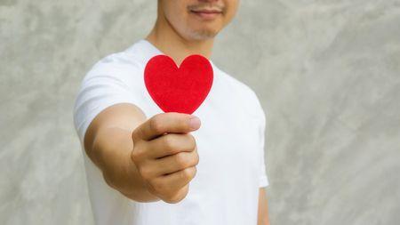 العام الجديد ، السنة الجديدة ، نصائح ، رجل ، قلب ، صورة