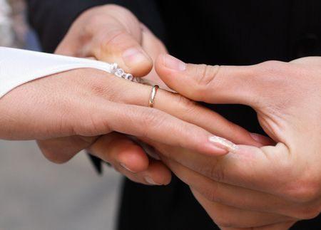 صورة , الزواج , الارتباط , الحب , الزوجين