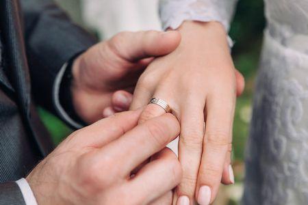 صورة , زوجين , الزواج , الخطبة
