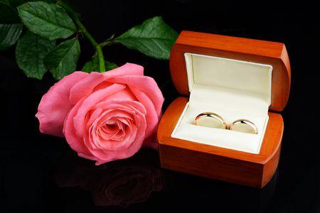 صورة , وردة , فترة الخطوبة , الزواج