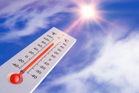 ضربة الشمس ، صورة ، mometer