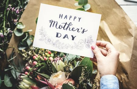 صورة , الهدايا , الأم , عيد الأم