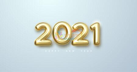 خلفية العام الجديد 2021