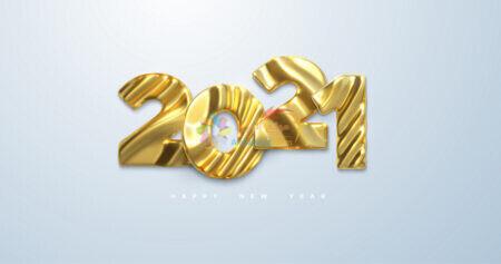 خلفية صور العام الجديد 2021