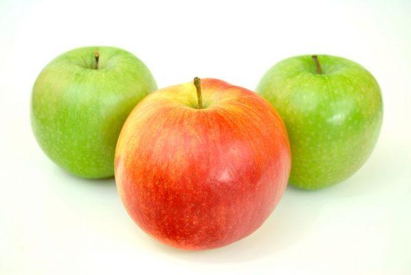 التفاح الاحمر،التفاح الأخضر،فوائد التفاح، تفاح لذيذ، صورة التفاح