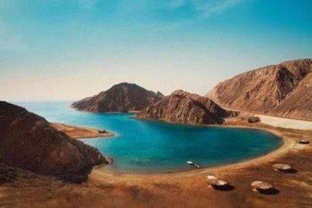 وادي الوشواشي ، مصر ، نويبع ، البحيرة الخضراء ، المعالم السياحية