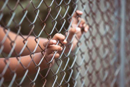 صورة , السجن , يد , المتهم , الحبس