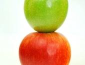 تفاح أحمر، تفاح أخضر، التفاح