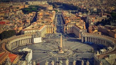 روما ، المركز القديم ، الحي التاريخي ، حمامات كاراكالا ، فرانسينا