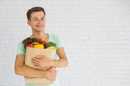 التسوق ، الأغذية ، الأغذية السليمة ، تخزين الغذاء