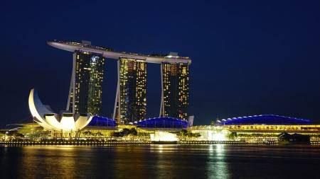 سنغافورة ، السياحة ، الحديقة السماوية ، شارع أورشارد ، جزيرة سنتوسا ، المتحف الوطني