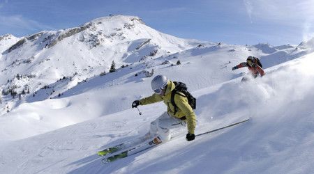 صورة , ممارسة التزلج , السياحة الجليدية
