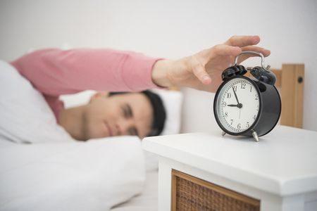 صورة , رجل , نائم , ساعات النوم , شهر رمضان