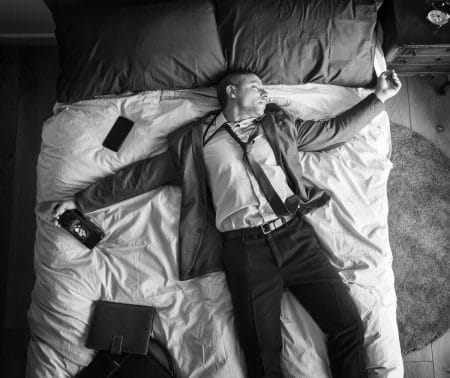 أهمية النوم ، نوم، صورة، رجل