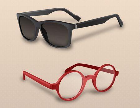 صورة , النظارات الشمسية , العين