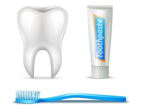 صورة , تبييض الأسنان , فرشاة أسنان , معجون أسنان