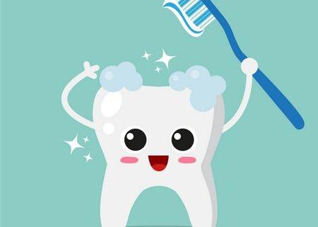 صورة , تنظيف الأسنان , التهاب اللثة عند الأطفال
