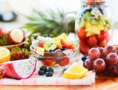 الفواكه, الخضروات, الدهون الثلاثية, صورة, vegetables , fruits