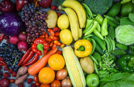 صورة , خضار , فواكه , الأغذية الصحية