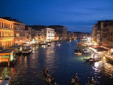 فينيسيا ، إيطاليا ، البندقية ، سان ماركو ، جسر ريالتو ، قصر الدودج