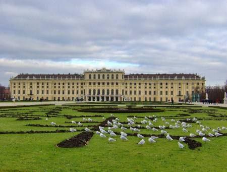 فيينا ، عاصمة الأنس ، قصر شونبرون ، هوفبورغ الامبراطوري ، براتر ، سان استيفانو ، المكتبة النمساوية ، الدانوب