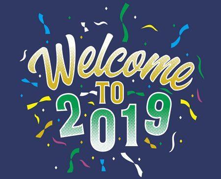 welcome to 2019 ، أهلاً 2018 ، مرحباً 2018 ، صورة