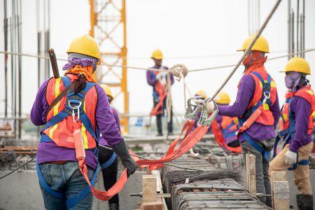 صورة , عمال , المصانع , العمل